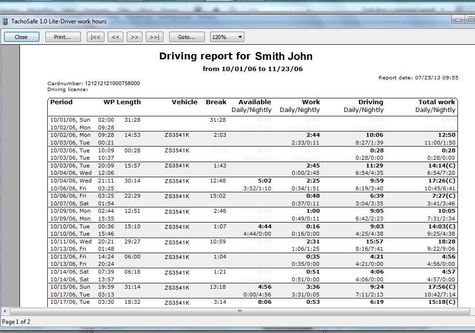 Dispozitiv descărcare/analiză Tacho2Safe DT