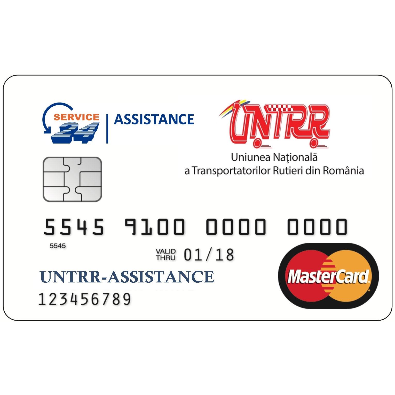 Card de asistență rutieră UNTRR - Service 24