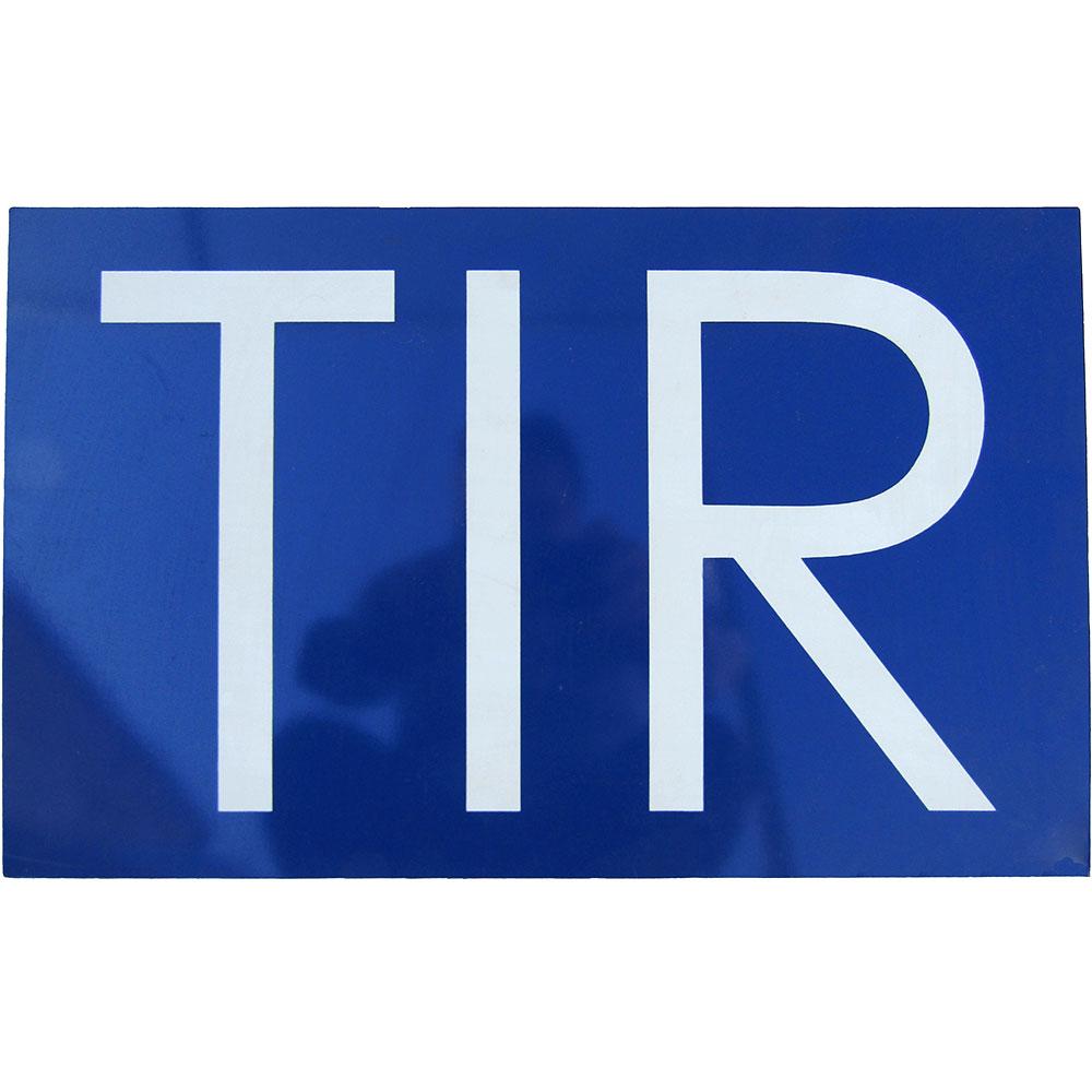 Placa TIR