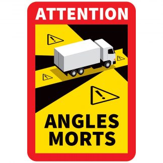 Autocolant unghi mort camion Franta